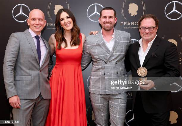 Anthony Carrigan D'Arcy Carden Rightor Doyle and Stephen Root pictured in the press room of 78th Annual Peabody Awards Ceremony Sponsored By...