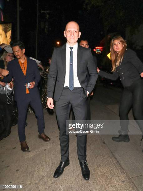 Anthony Carrigan is seen on January 26 2019 in Los Angeles California