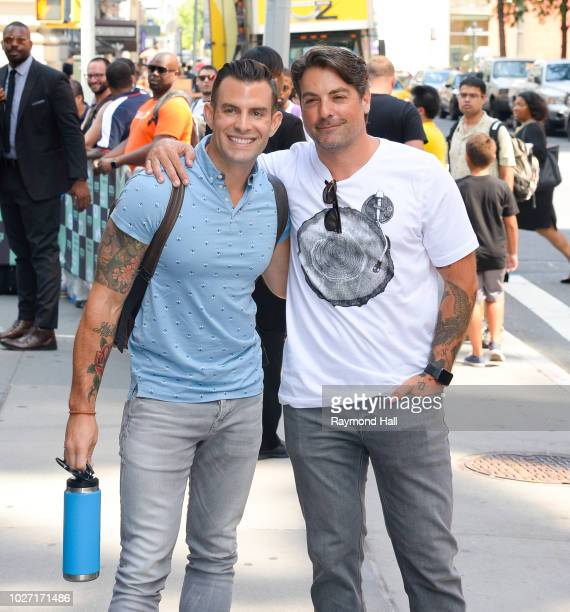 Anthony Carrino and John Colaneri are seen arriving to AOL Build Series at Build Studio to promote their first children's book 'What Can You Do with...