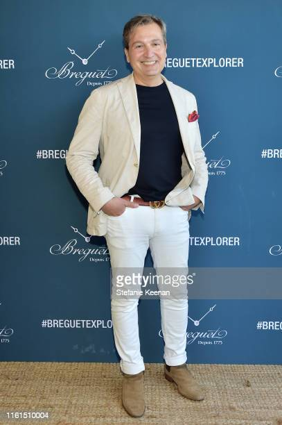 Anthony Cenname attends Breguet Marine Collection Launch at Little Beach House Malibu on July 11 2019 in Malibu California