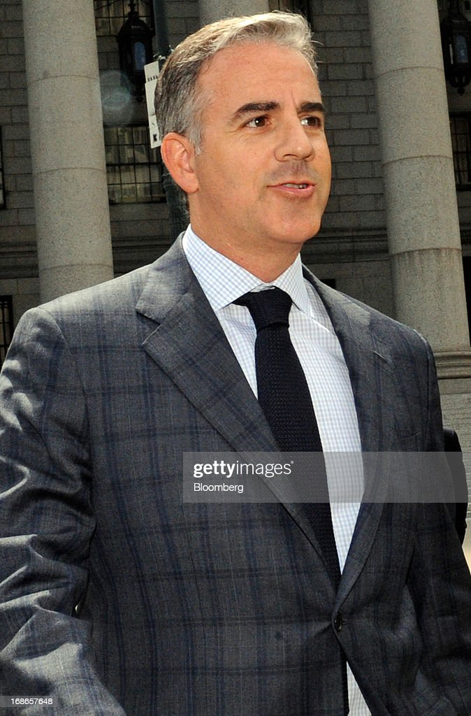Anthony Chiasson, co-founder of Level Global Investors LP, exits federal court following a sentencing hearing in New York, U.S., on Monday, May 13, 2013. Chiasson will be sentenced to 6 1/2 years in prison for using illegal tips funneled to him from analysts and company insiders to make $68 million for his hedge fund, a judge said. Photographer: Louis Lanzano/Bloomberg via Getty Images