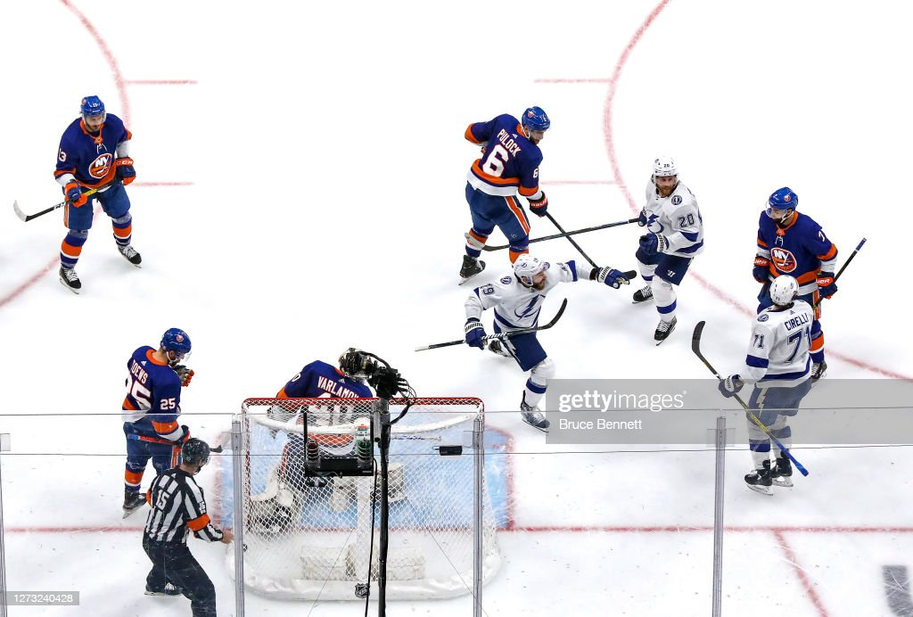 Tampa Bay Lightning v New York Islanders - Game Six : News Photo
