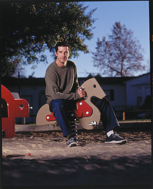 Anthony Clark at a Playground