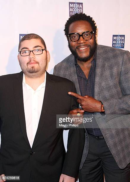 Anthony Conti and Chad Coleman attend the 2016 Media Access Awards at Four Seasons Hotel Los Angeles at Beverly Hills on November 18, 2016 in Los...
