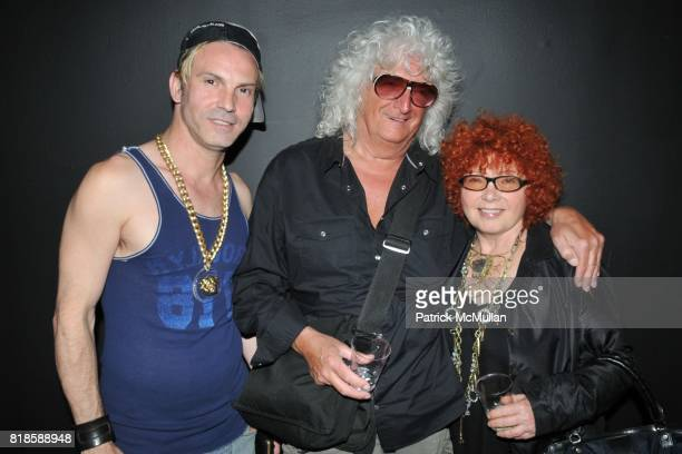 Anthony Contino Allan Pollack and Suzi Kandel attend Debut of the New Male Collection YOUNG RESTLESS 'HOMME NOUVEAU' at Rootstein on June 16 2010 in...
