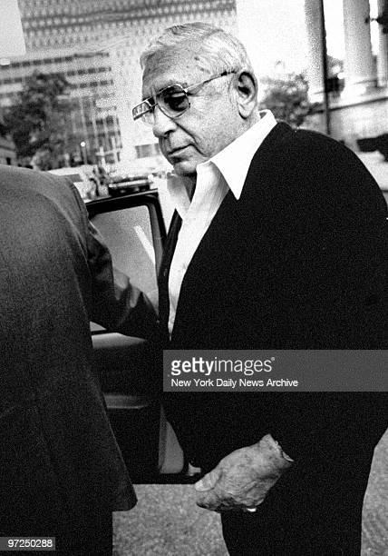Anthony Corallo leaving US Federal Court house during Mafia trial Eight men are ccused of particpating in the Mafia's ruling council a coalition of...