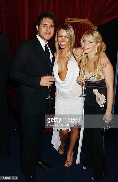 Anthony Costa Adele Silva and Jakki Degg attend the aftershow party following the World Premiere of Phantom Of The Opera at Olympia on December 6...