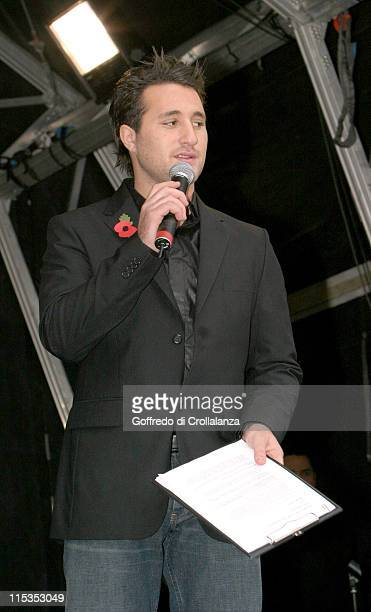 Anthony Costa during The National Lottery's 10th Birthday Celebrations at Tate Moden in London Great Britain