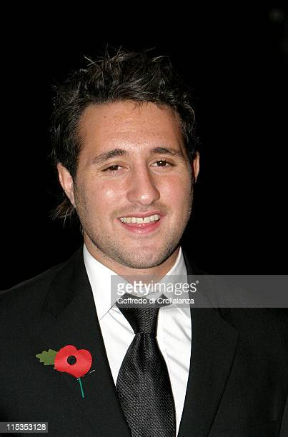 Anthony Costa of Blue during The National Lottery Helping Hands Awards Arrivals at Tate Modern in London Great Britain Great Britain