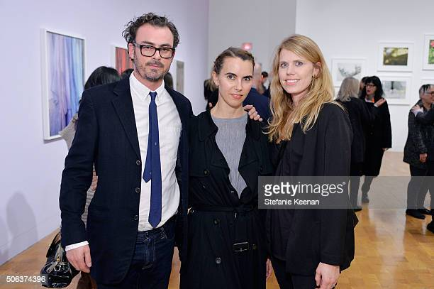 Anthony Cran Naomi Wilding and Magyn Kydd attend MOCA's Leadership Circle Members' Opening And Artist Dinner For Catherine Opie 700 Nimes Road at...