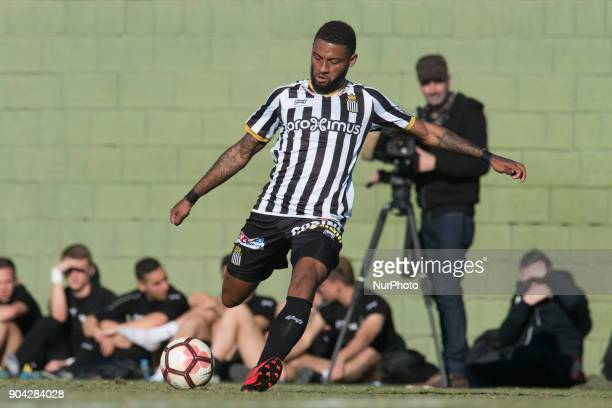 Anthony D'Alberto during the friendly match between Royal Charleroi SC vsYanbian Funde FC at Pinatar Arena Murcia SPAIN 10th January of 2018