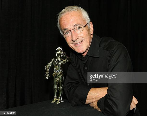 Anthony Daniels alter ego of C3P0 during 'Star Wars' Celebration IV Day 2 Media Day at Los Angeles Convention Center in Los Angeles California United...