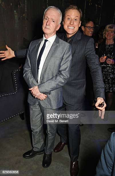 Anthony Daniels and Alan Tudyk attend the 'Rogue One A Star Wars Story' launch event after party at the Tate Modern on December 13 2016 in London...