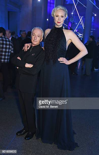 Anthony Daniels and Gwendoline Christie attend the after party following the European Premiere of 'Star Wars The Force Awakens' at the Tate Britain...