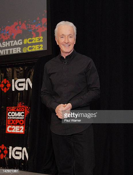 Anthony Daniels attends the 2012 Chicago Comic and Entertainment Expo at McCormick Place on April 14 2012 in Chicago Illinois