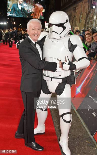 Anthony Daniels attends the European Premiere of 'Star Wars The Last Jedi' at the Royal Albert Hall on December 12 2017 in London England