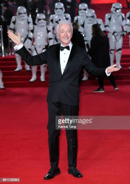 Anthony Daniels attends the European Premiere of 'Star Wars The Last Jedi' at Royal Albert Hall on December 12 2017 in London England