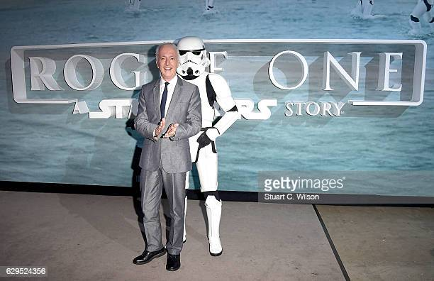 Anthony Daniels attends the launch event and reception for Lucasfilm's highly anticipated firstever standalone Star Wars adventure Rogue One A Star...