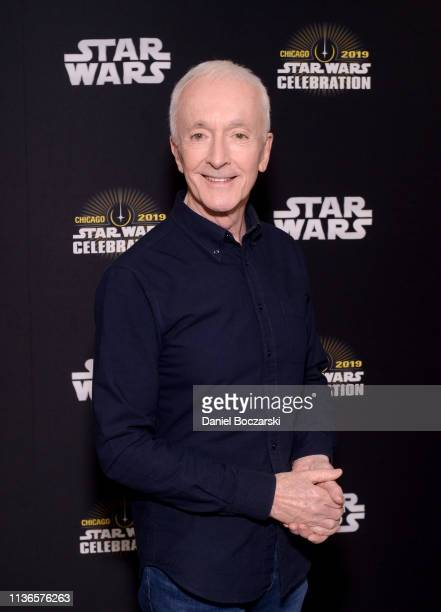 Anthony Daniels attends The Rise of Skywalker panel at the Star Wars Celebration at McCormick Place Convention Center on April 12 2019 in Chicago...
