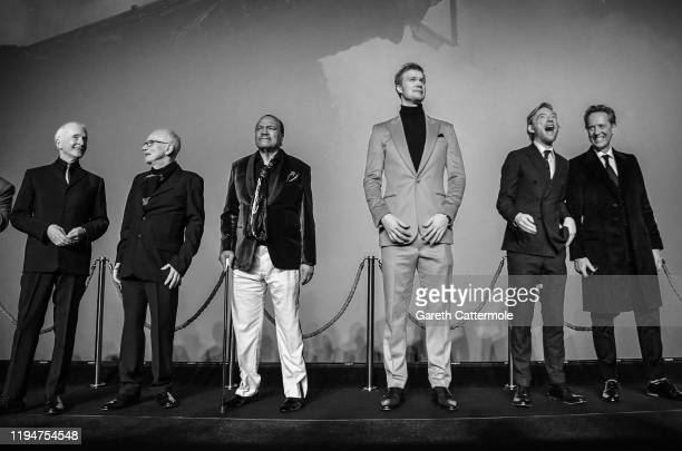 Anthony Daniels Ian McDiarmid Billy Dee Williams Joonas Suotamo Domhnall Gleeson and Richard E Grant attend the European premiere of Star Wars The...
