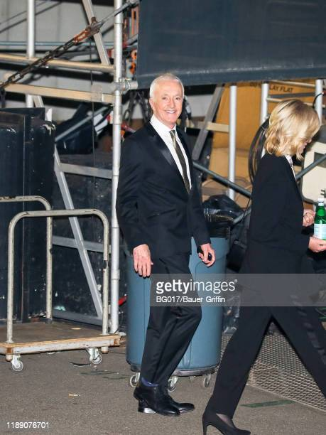Anthony Daniels is seen arriving at the 'Jimmy Kimmel Live' on December 16 2019 in Los Angeles California