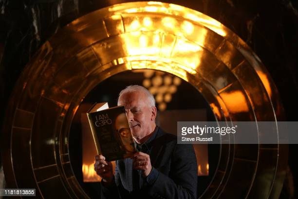TORONTO ON NOVEMBER 11 Anthony Daniels the actor who plays golden robot C3PO in Star Wars has written his memoirs titled I am C3PO at in Toronto...