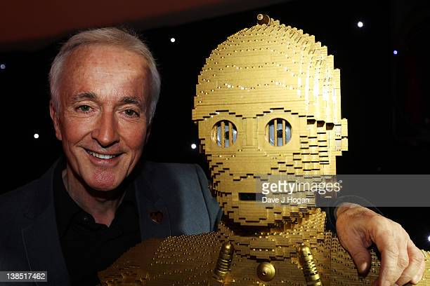Anthony Daniels the voice of C3PO attends a special screening of Star Wars Episode 1 The Phantom Menace 3D at The Empire Leicester Square on February...