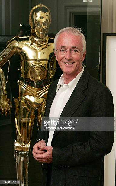 Anthony Daniels with C3PO during 'Star Wars' The Exhibition at County Hall in London Great Britain