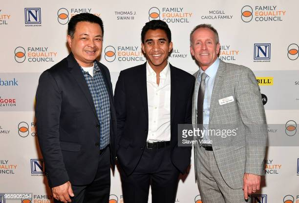 Anthony Darrin Stan J Sloan and guest attend Family Equality Council's Night At The Pier at Pier 60 on May 7 2018 in New York City