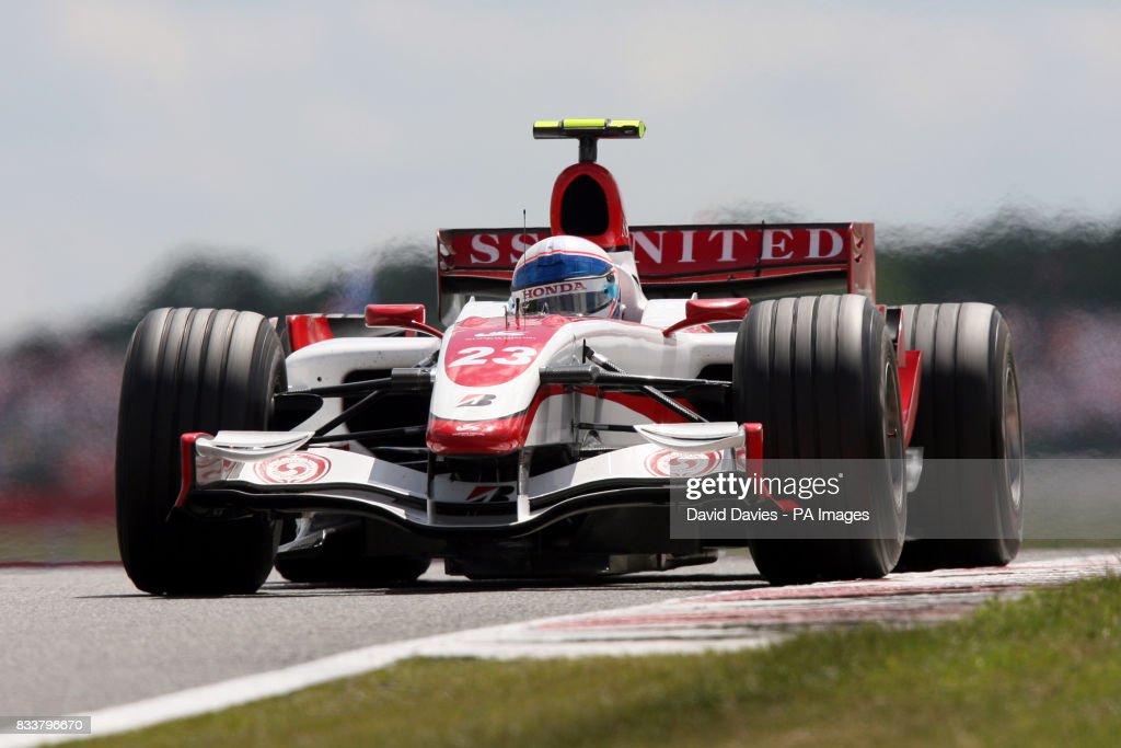 Formula One Motor Racing - British Grand Prix - Race - Silverstone : News Photo