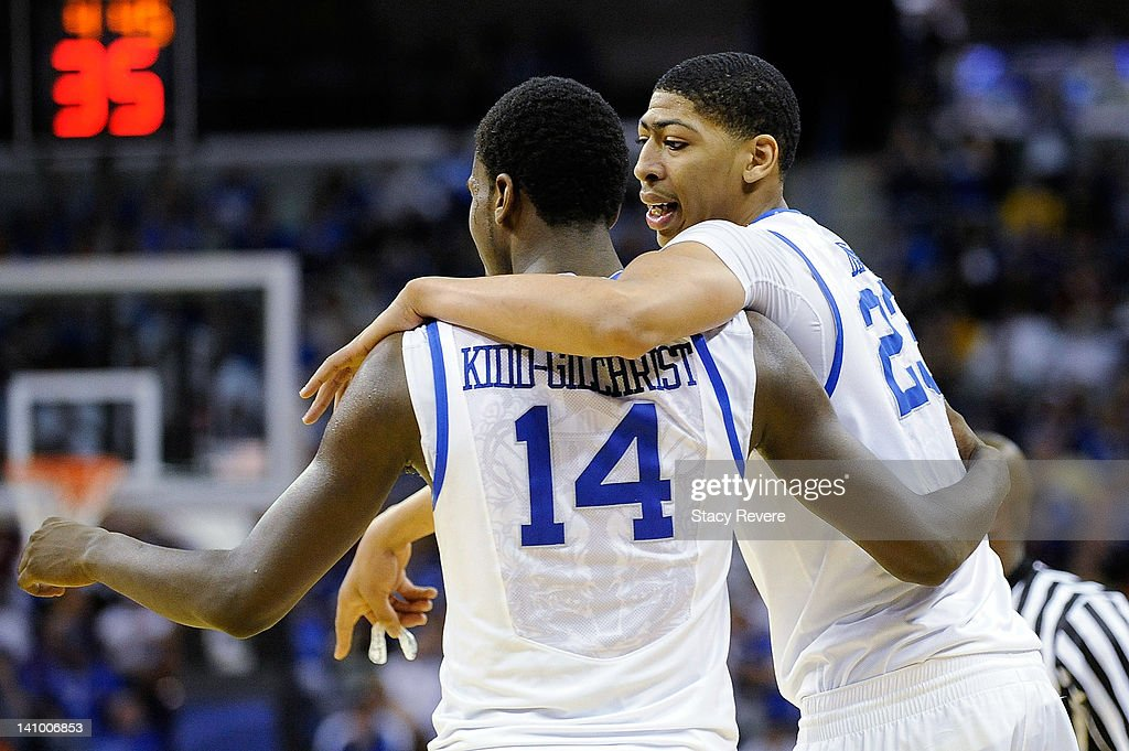SEC Basketball Tournament - Kentucky Wildcats v LSU Tigers : News Photo