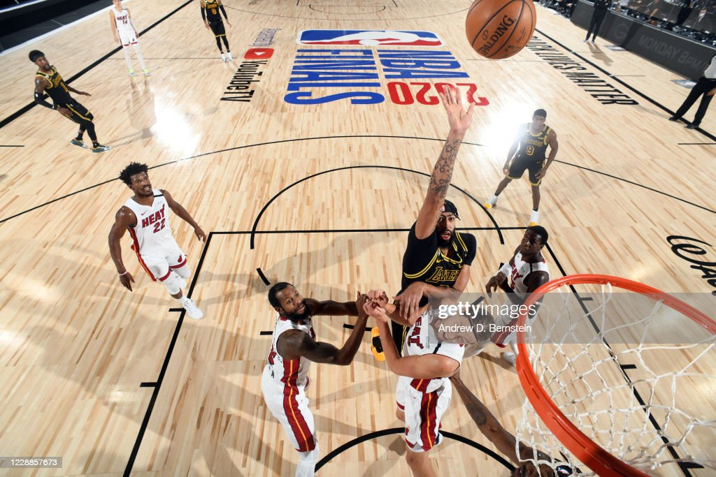 2020 NBA Finals - Miami Heat v Los Angeles Lakers : News Photo