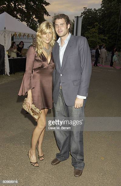 Anthony de Rothschild and Tania Strecker attends The Serpentine Gallery's annual summer party at the The Serpentine Gallery on June 16 2004 in London