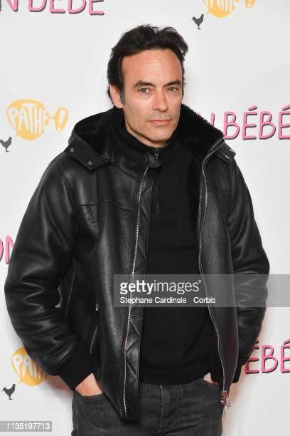 Anthony Delon attends Mon Bebe Paris Premiere at Cinema Gaumont Opera on March 11 2019 in Paris France