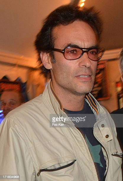 Anthony Delon attends the 'Champetre Forain Dinner' At Jardin Des Tuileries on June 28 2013 in Paris France