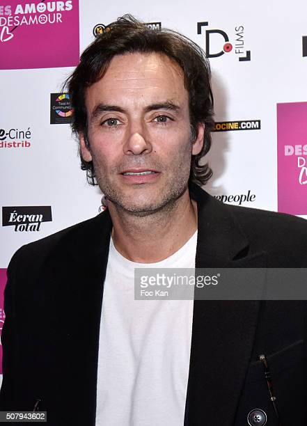 Anthony Delon attends the 'Des Amours Desamour' Premiere at Cinema Gaumont Opera on February 1 2016 in Paris France