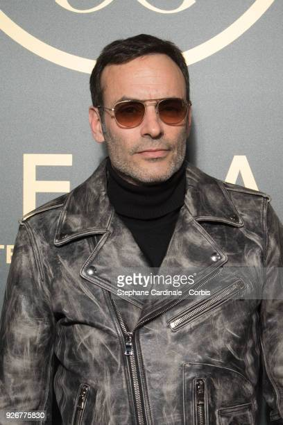 Anthony Delon attends the Elie Saab show as part of the Paris Fashion Week Womenswear Fall/Winter 2018/2019 on March 3 2018 in Paris France