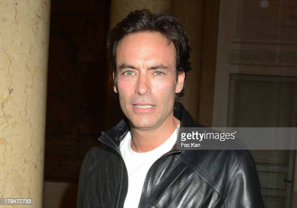 Anthony Delon attends the Lui Magazine Launch Party at 34 Avenue Foch on September 3 2013 in Paris France