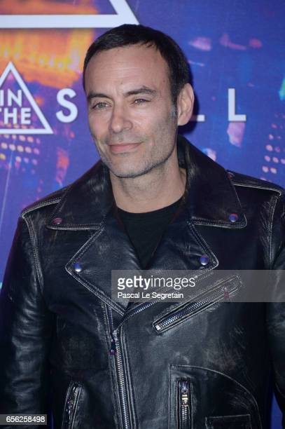 Anthony Delon attends the Paris Premiere of the Paramount Pictures release Ghost In The Shell at Le Grand Rex on March 21 2017 in Paris France