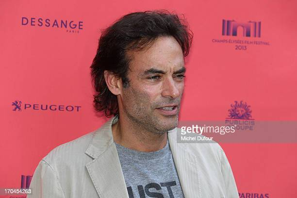 Anthony Delon attends the 'Toiles Enchantees' Red Carpet as part of The Champs Elysees Film Festival 2013 at Publicis Champs Elysees on June 13 2013...