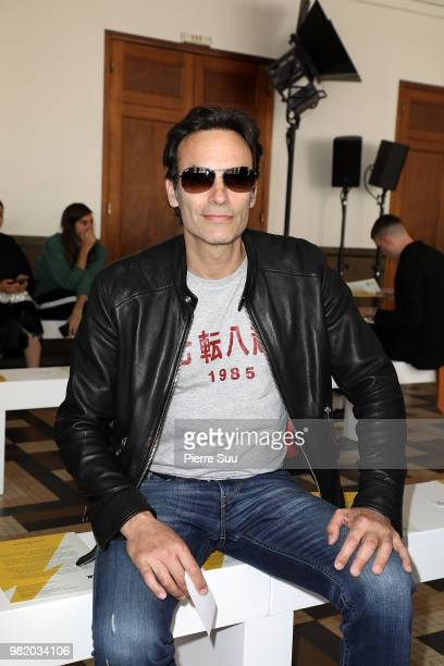 Anthony Delon attends the Wooyoungmi Menswear Spring/Summer 2019 show as part of Paris Fashion Week on June 23 2018 in Paris France