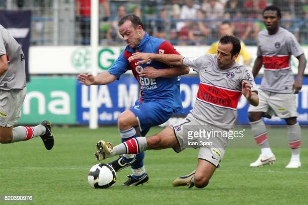 Anthony DEROIN / Ludovic GIULY Caen / PSG 4eme journee de Ligue 1