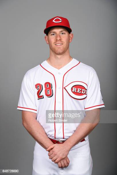 Anthony DeSclafani of the Cincinnati Reds poses during Photo Day on Saturday February 18 2017 at Goodyear Ballpark in Goodyear Arizona