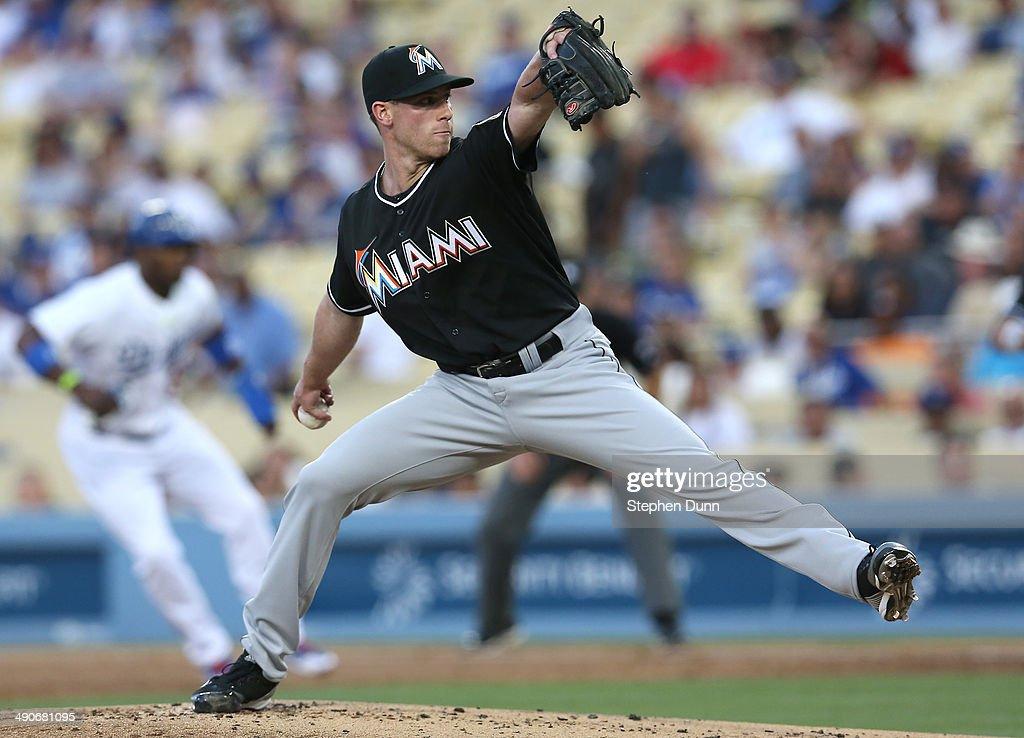 Miami Marlins v Los Angeles Dodgers : News Photo