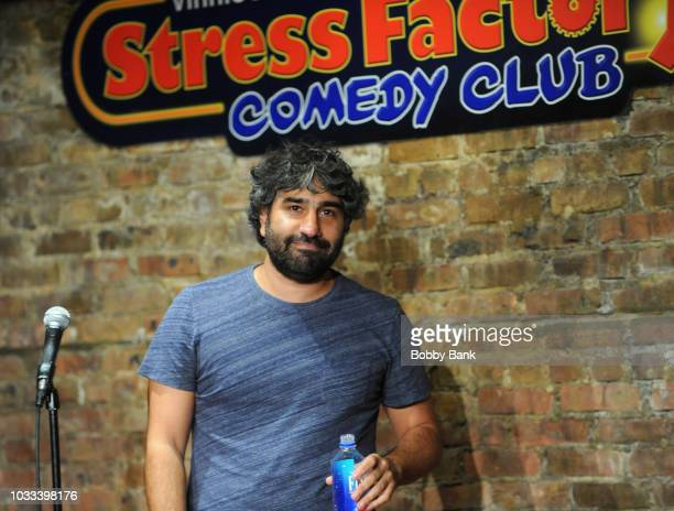 Anthony DeVito performs at The Stress Factory Comedy Club on September 14 2018 in New Brunswick New Jersey