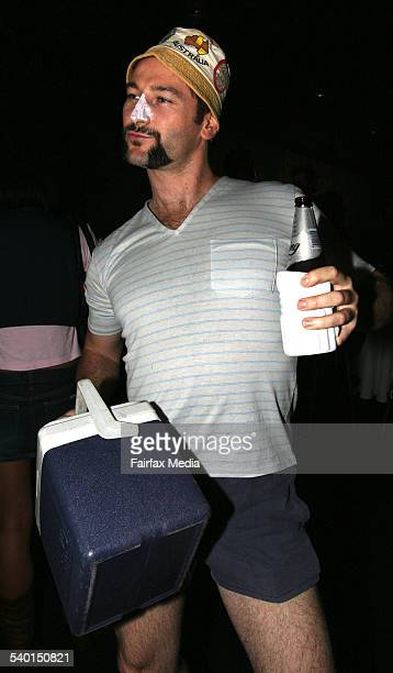 Anthony Dijanosic at the Movember Gala Party at Luna Park Milsons Point Sydney 29 November 2006 SHD Picture by JANIE BARRETT
