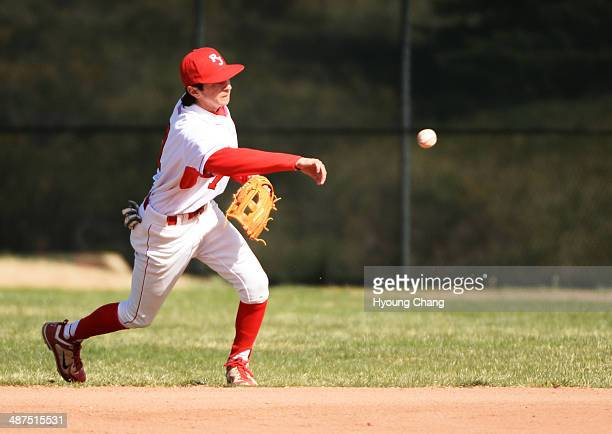 Anthony Donovan of Regis Jesuit High School is in action during the game against Mountain Vista High School at Regis Jesuit High School Aurora...