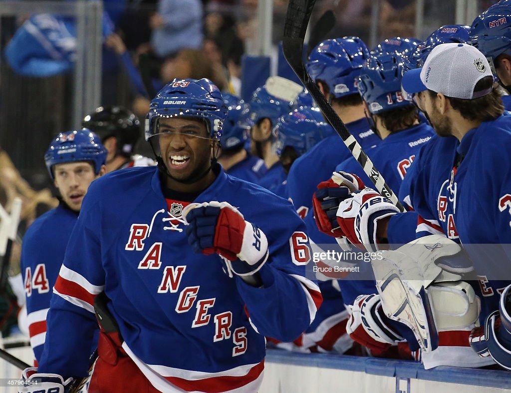 Minnesota Wild v New York Rangers : News Photo