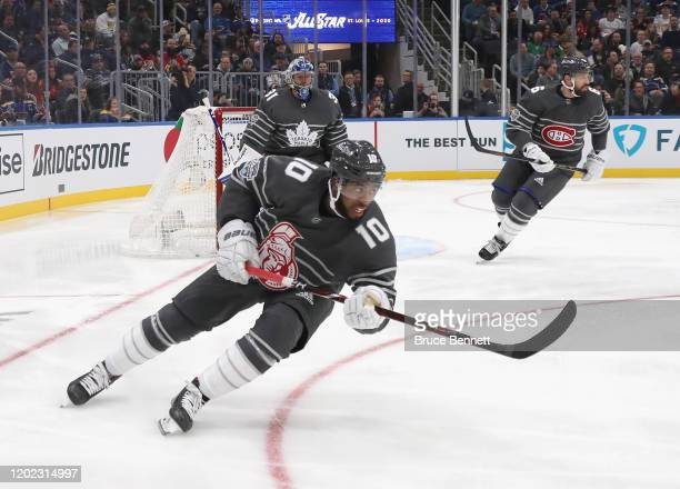 Anthony Duclair of the Ottawa Senators skates in the game between Metropolitan Division and Atlantic Division during the 2020 Honda NHL All-Star Game...