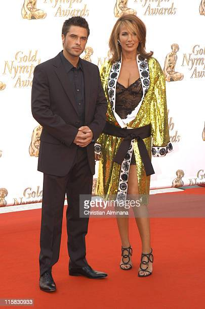 Anthony Dupray and Natasha Amal during 45th Monte Carlo Television Festival Closing Award Ceremony at Grimaldi Forum in Monte Carlo Monaco